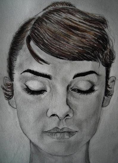 Audrey Hepburn by Laulau